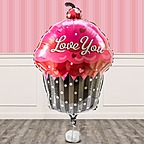 Vorschaubild Riesenballon I love you Cupcake