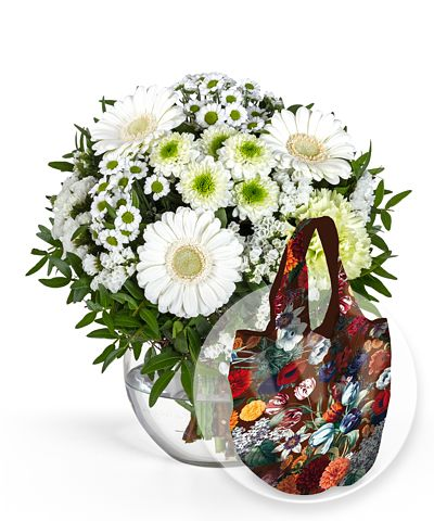 Petit Blanc und Easy Bag Fashion Tulpen